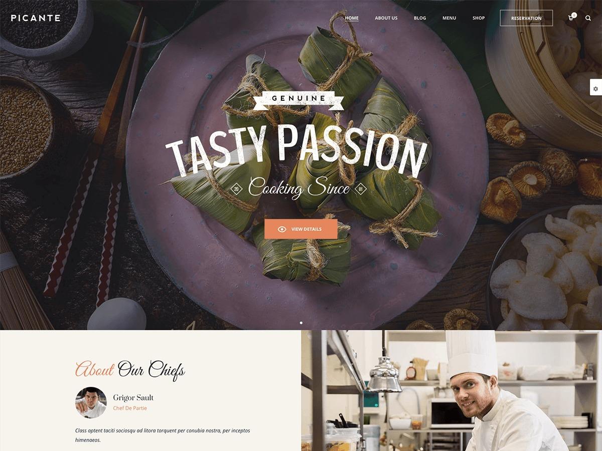 Picante WordPress theme
