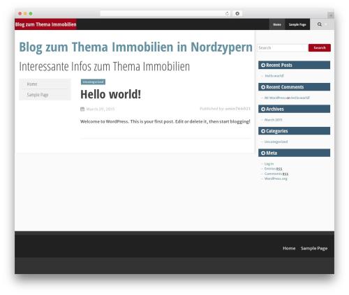SmartAdapt theme WordPress free - immobilien-nordzypern.de