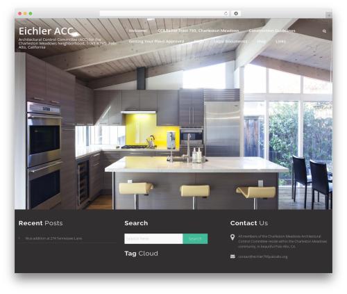 Swiftbiz Lite WordPress theme design - acmewebwidgets.com