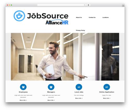 Vantage Premium WordPress theme download - alliancehrservices.com