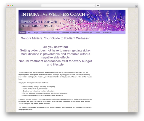 WP theme Catalyst - integrativewellnessexpert.com