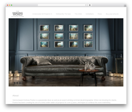 Asteria PRO theme WordPress - wp.thesinkingworld.com
