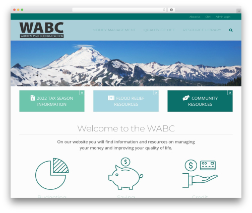 Avada top WordPress theme - whatcomabc.org