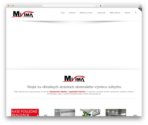 Avada top WordPress theme - web.misima.sk