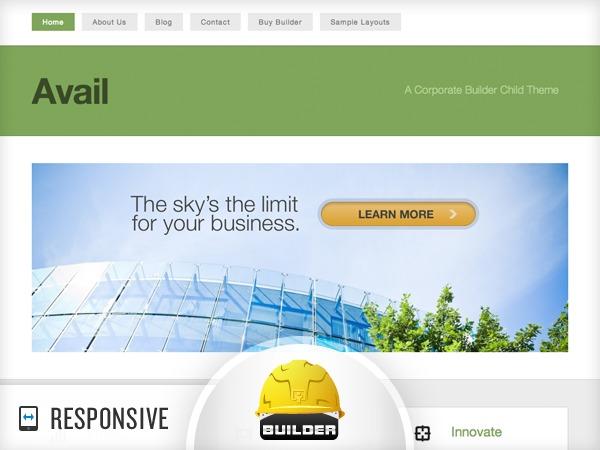 Avail WordPress theme
