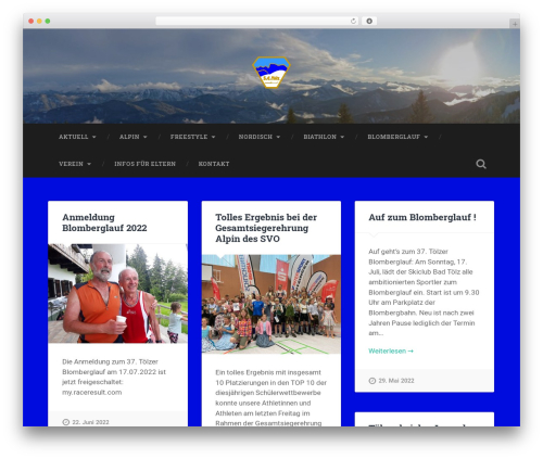 Baskerville free WordPress theme - wordpress.skiclub-toelz.de