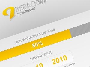 Best WordPress template BeBack Theme