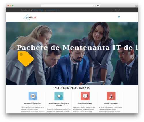 Best WordPress theme Betheme - web-net.ro