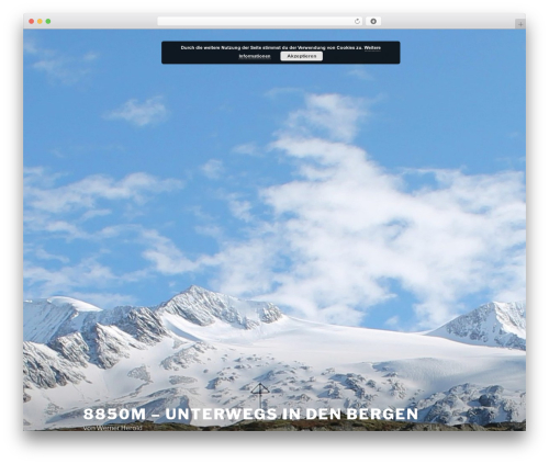 Best WordPress theme Twenty Seventeen - werner-herold.de