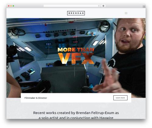 Betheme best WordPress template - worksbybrendan.com