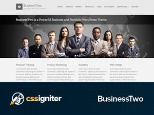BusinessTwo business WordPress theme