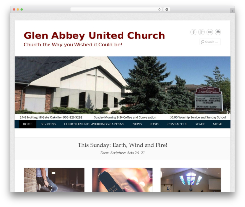 Catch Everest Pro WordPress theme - wp.glenabbeyunitedchurch.com
