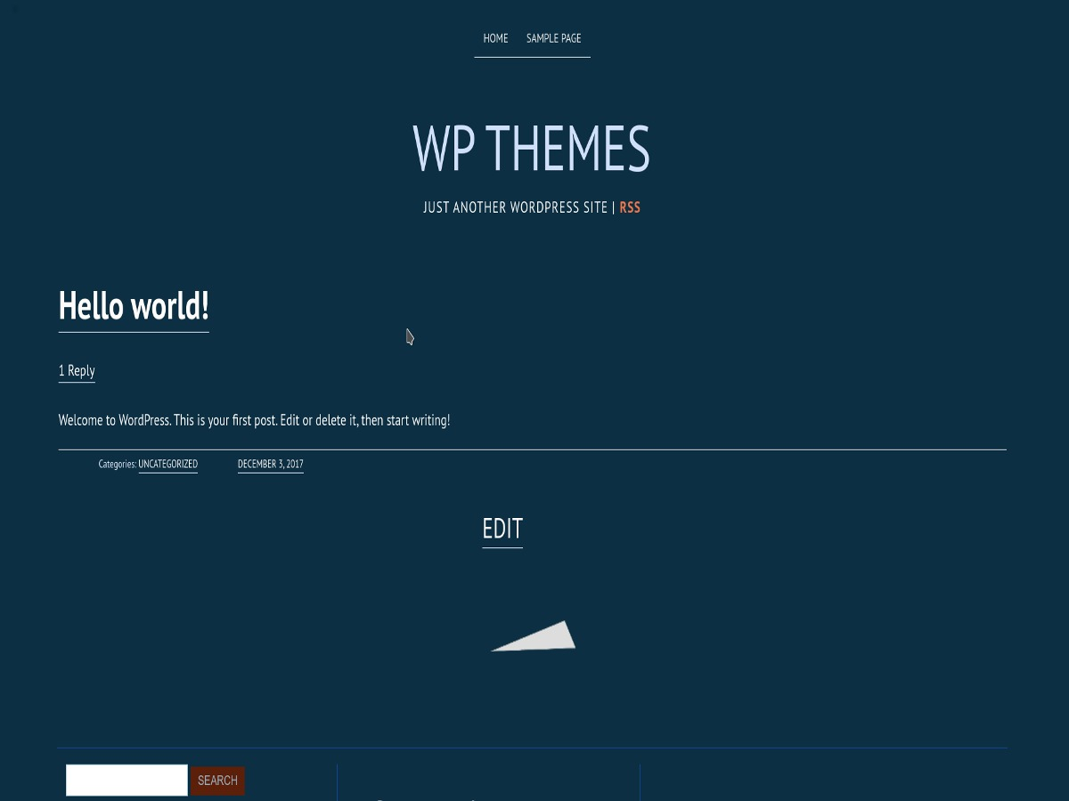 Deep Sea WordPress theme download