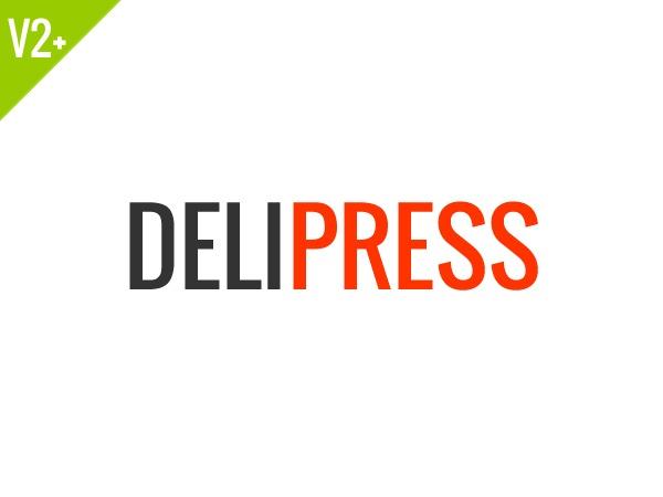 Deli Press WordPress magazine theme