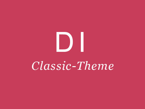 DI-Classic Business Orange business WordPress theme