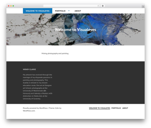 Edin WordPress theme download - wendy-clarke.com
