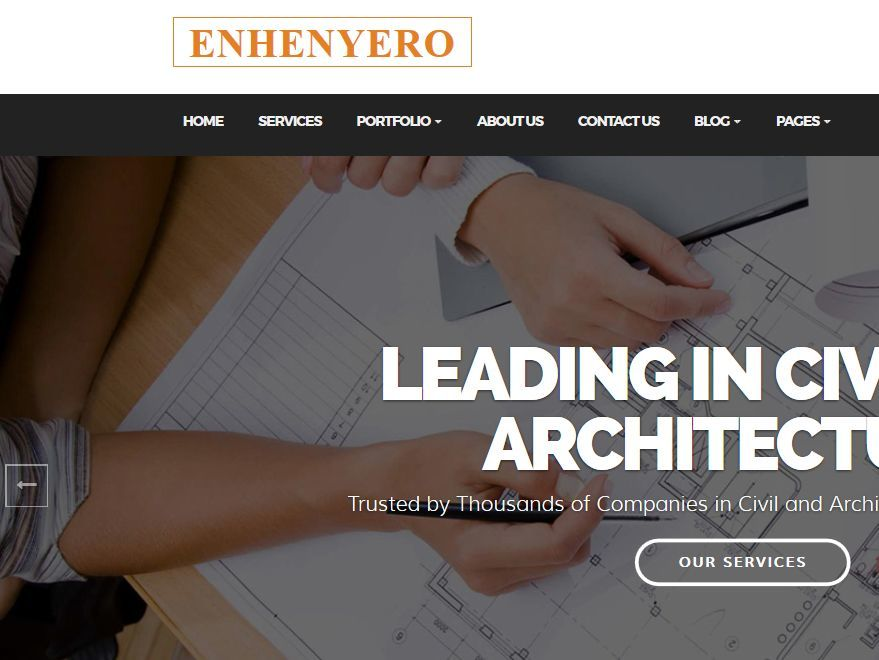 Enhenyero WordPress theme