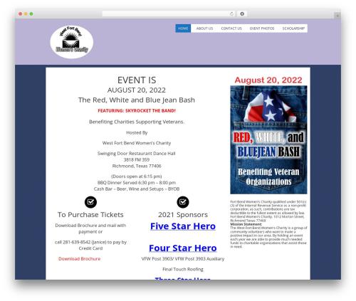 Fruitful WordPress template - wfbwc.org