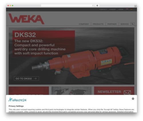 WordPress megamenu-pro plugin - weka-elektrowerkzeuge.de