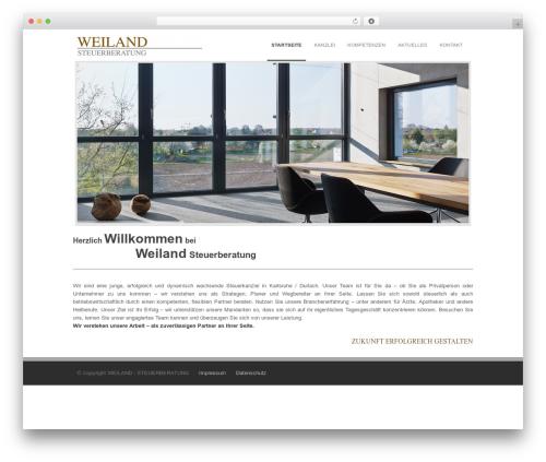 Incredible WP premium WordPress theme - weiland-steuerberatung.de