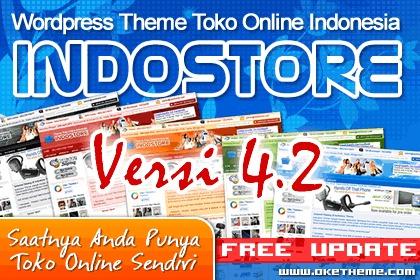 IndoStore Theme WordPress ecommerce template