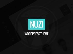 Nuzi best WordPress template