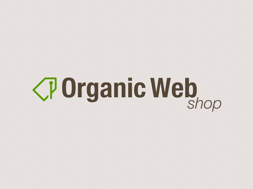 Organic Web Shop WordPress ecommerce template