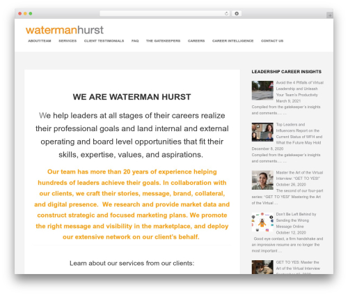 Free WordPress Collapse-O-Matic plugin - watermanhurst.com