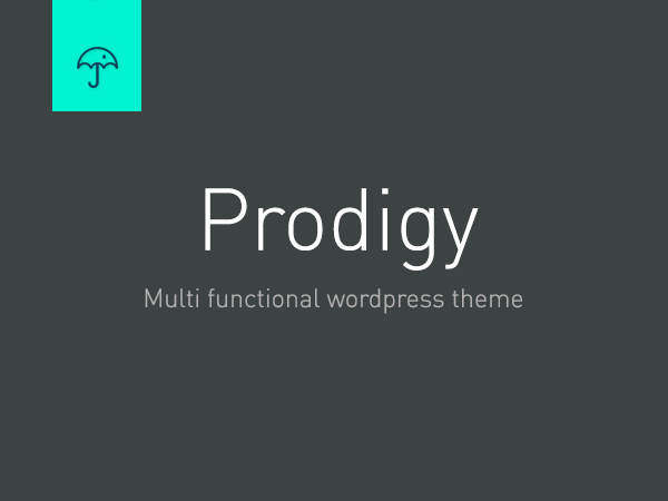 Prodigy WordPress website template