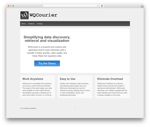 Responsive WordPress theme download - wqcourier.com