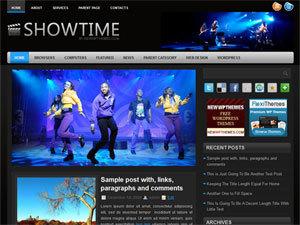 ShowTime WordPress blog template