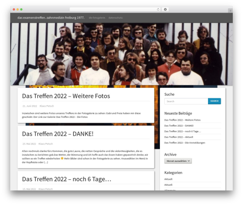 Simple Bootstrap template WordPress free - wp.dasexamenstreffen.de