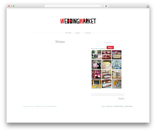 WordPress my-pinterest-badge plugin - weddingmarket.nl