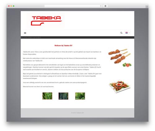 Theme WordPress Betheme - ws2016.tabeka.nl