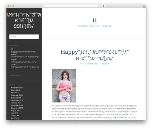 Theme WordPress Flat - wcn-aki.com