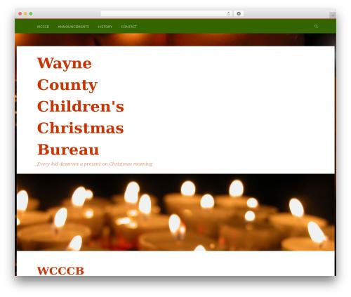 Theme WordPress Illumination - wcccb.org