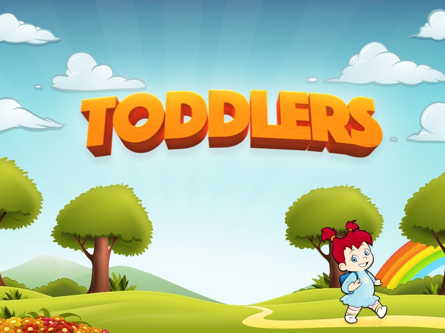 Toddlers WordPress page template