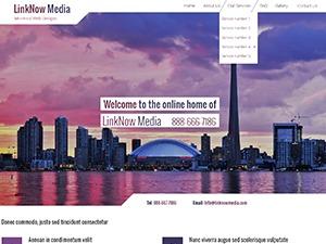 UI3 WordPress website template