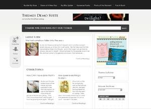 WordPress template Tuaug4