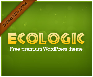WordPress theme Ekologic