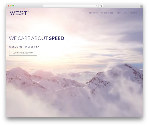 Wp Haswell WP template - westsa.gr