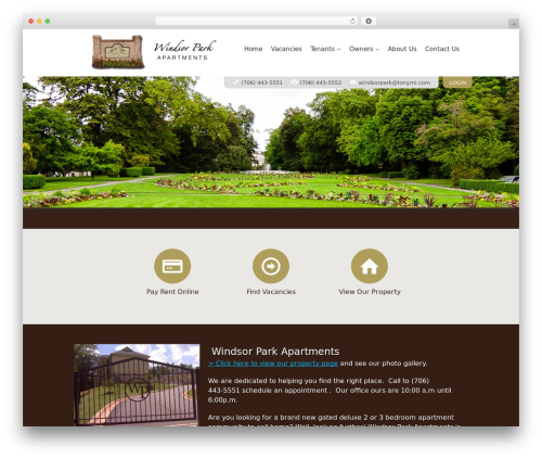 WP template AppFolio MVP Theme - windsorpark-apartments.com