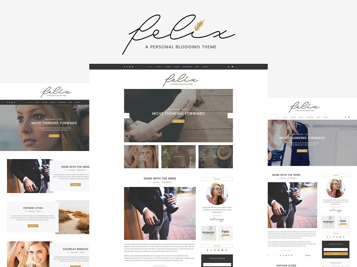 WPFelix WordPress blog theme