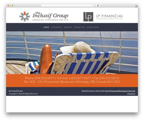 Everett WordPress page template - inclusifgroup.com