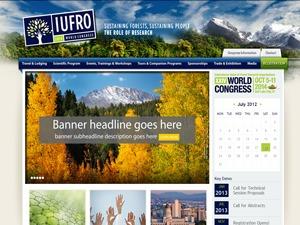 IUFRO theme WordPress