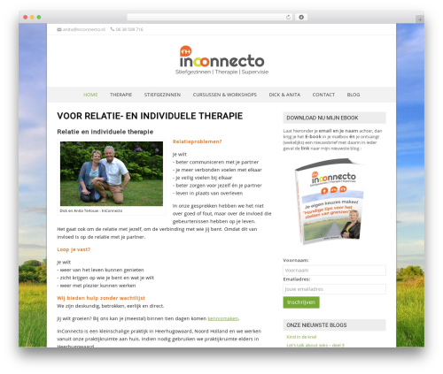 NatureSpace free WordPress theme - inconnecto.nl