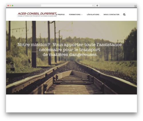 Radcliffe free WordPress theme - aces-conseil.ch