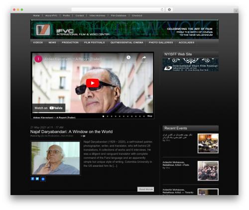 Video WordPress movie theme - ifvc.com