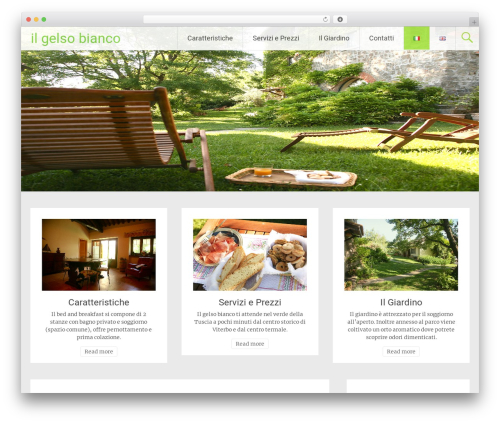 WordPress template Radiate - ilgelsobianco.it/relax-e-natura