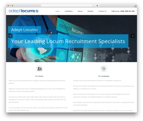WordPress zeyn_vc_addon plugin - adeptlocums.com